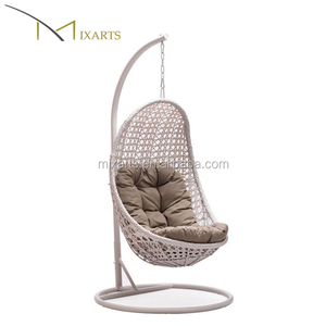 Mixarts rattan adult wicker swing egg chair