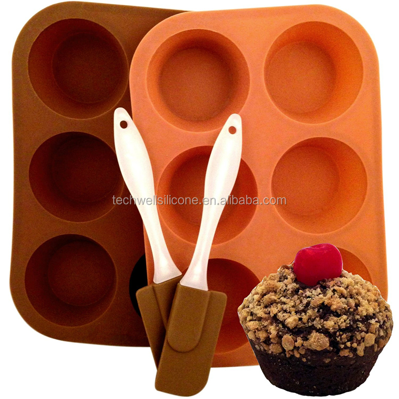 Four Pieces Spatula Set Silicone Bakeware Set