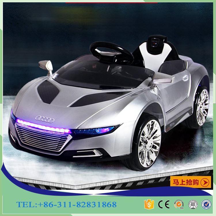 Double drive battery electric car for kids/electric baby ride on toy car