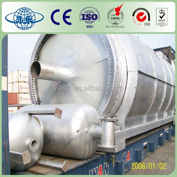 Plastic Pyrolysis Oil Refining System/Plant/Crude Oil Extraction Machine