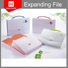 2015 2016 best seller made in China Check size file expanding wallet, file document bag, file folder