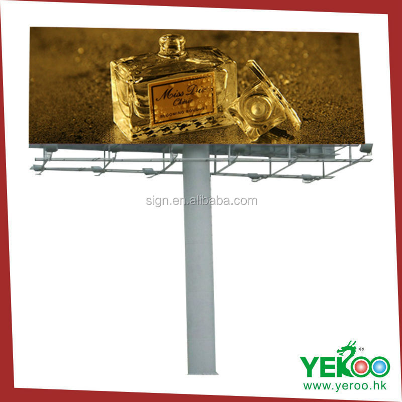 2015 new design flex banner electronic billboard Low price