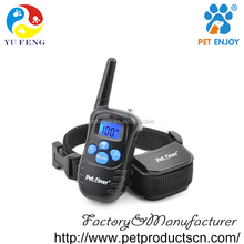 2016 Luxury Dog Electronic Shock Vibration Training Slave Collar, Wholesale Waterproof Remote Control Pet Dog Agility Equipment