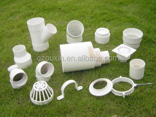 schedule 40 pvc pipe fittings for bathroom with factory price for sale