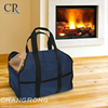 heavy duty canvas large size firewood log tote