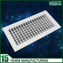 free sample HVAC system air grilles diffusers double deflection supply air grille