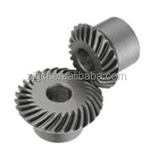 Hot selling CNC machining parts spiral bevel gear