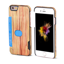 Protective Phone Wooden Pattern Back Case Cover for iPhone 7 7 plus