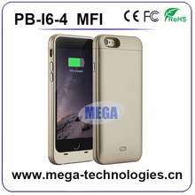 New product MFI certificated legitimate 3200mah power bank battery case for iphone 6