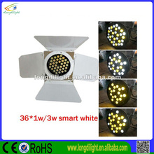 36*1/3w led barn door lights /par can with barn door