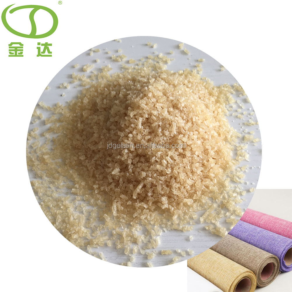 Industrial gelatin / technical gelatin for textile products