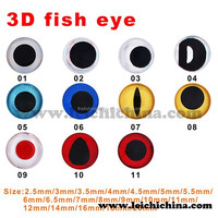 Double color 3d fishing lure eyes 3D fish eye