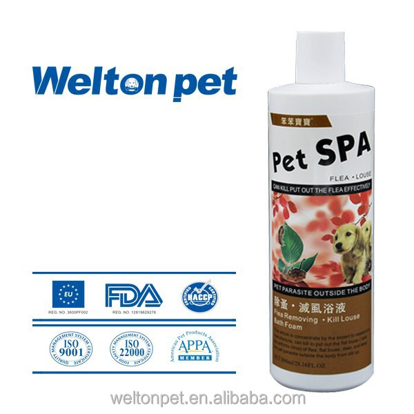Deodorizers Flea and Lice Elimination Bath Foam dog shampoo