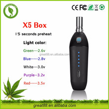 2017 trending products Vape Mods X5 Box E Cigarette With Magnet electronic cigarette free sample free shipping