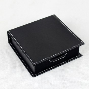 memo pad holder - full grain leather