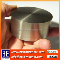 D70*50mm super large cylinder ndfeb magnet for sale/neodymium magnet with different thickness for sale