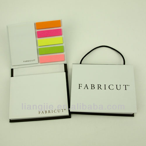 Bag shaped functional sticky notes