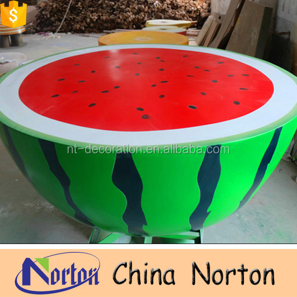 large outdoor fiberglass fruit sculpture NTRS-CS261S