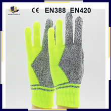HPPE Fiber Anti-Cut <strong>Safety</strong> Working Gloves/Children Cut Resistant Gloves