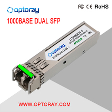 1.25G 1550nm 60 km Duplex LC SMF Small Form-factor Pluggable Commercial DOM SFP