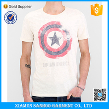 High Quality Custom Wholesale T Shirt No Minimum Order White T shirt Printing With Logo