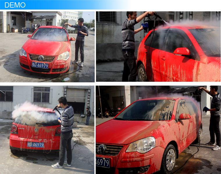 Diesel & electric steam car wash machine for sale