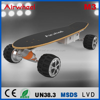 2016 newest electric vehicle four wheel off road big wheel skateboard