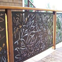 aluminum porch garden balcony railing designs