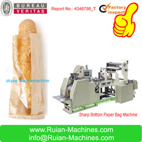Sharp Bottom Paper Bags Maker Machine For bread