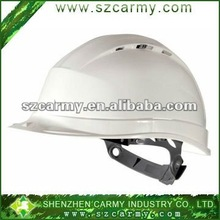 Plastic Anti-Crash White Mine Worker Use Building Site Use Safety Protective Helmet