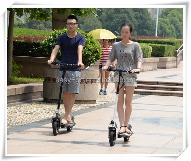 2015 hot 350w/36v brushless scooter sidecars with lithium Polymer Batteries CE certificate