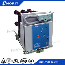 ZN63A(VS1-12) manufactur china VS1-12kv handcart vacuum circuit breaker manufacturers types and applications