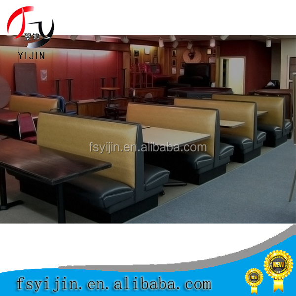 Modern Design wood frame Cheap Restaurant Booths For Sale