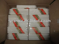 White Candle with high melt point /wholesale religious candles