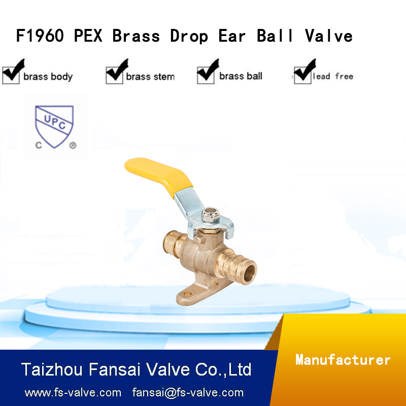 3/4 dn20 ball angel valve with brass union ends gas valve