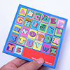 wholesale 2017 new design custom magnetic wooden letters for kids