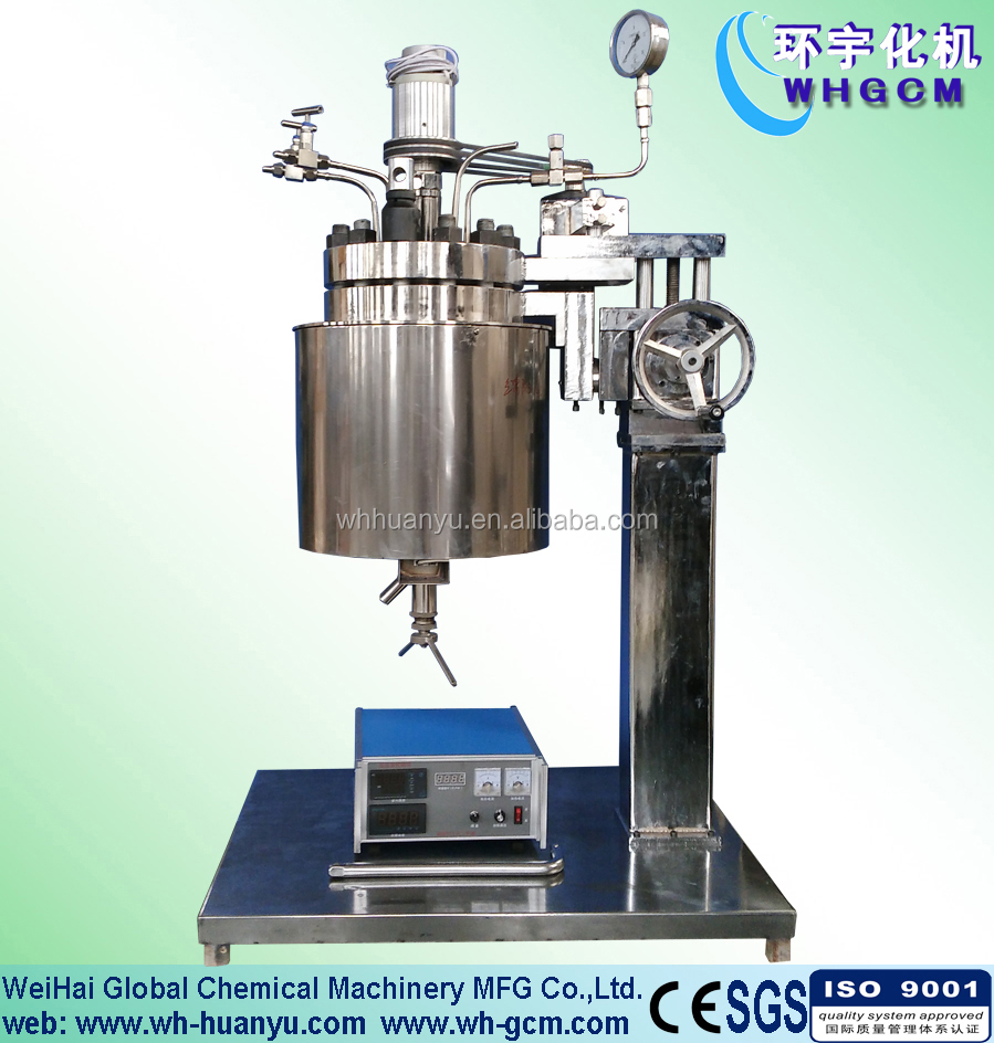 10L PID Controlled Chemical Lab Pressure Vessel
