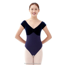 new high back adult dance leotard