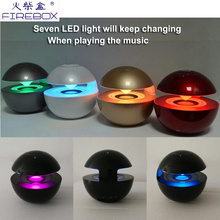 wholesale Portable Pocket telephone light floating cheap mini led bluetooth speaker