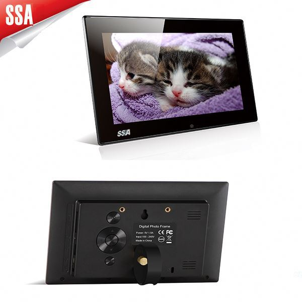 Chinese Low Price Group Photo Frame Digital with Remote Control