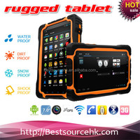 2014 New High Battery Capacity MTK6577 Dual Core 7 Inch Touch Screen Rugged Android Tablet