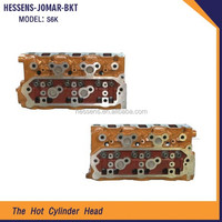 S6K aluminum engine cylinder head for mitsubishi