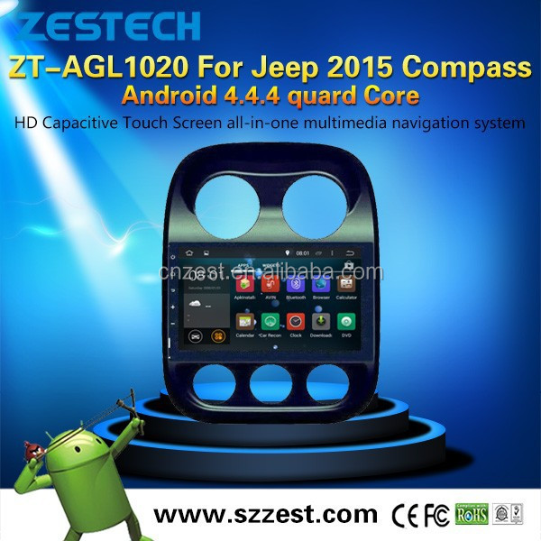NEW Android4.4.4 up to 5.1 dvd car player For Jeep 2015 Compass touch screen car dvd car gps