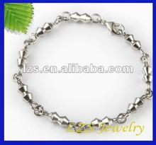 Wholesale no allergy to skin no rust stainless steel fashion jewelry for lovers (0624)