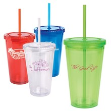 24oz Acrylic Plastic Tumbler With Paper Insert