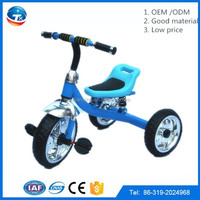 sea cargo children's Ride On toy car Steel frame Strong Part cheap baby tricycle