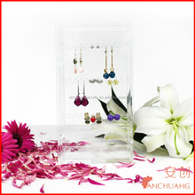 hanging jewelry organizer made of acrylic