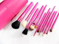 2016 for beauty small disposable lip brush metal handle makeup brush with case