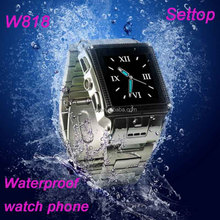 stainless steel waterproof watch mobile phone