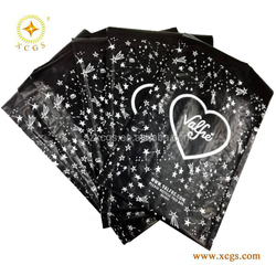 Glamour Design Printed Decorative Black Pink Custom Wholesale Poly Bubble Mailers
